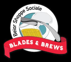 Blades & Brews Logo
